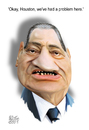 Cartoon: Mubarak (small) by geomateo tagged mubarak