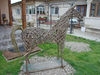 Cartoon: my new willow sculpture (small) by geomateo tagged willow,sculpture,horse,ecosculpture