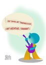 Cartoon: my protest (small) by geomateo tagged geomateo,protest,toonpool