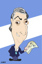 Cartoon: Nestor Kirchner (small) by Rick FC tagged kirchner