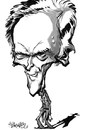 Cartoon: Clint Eastwood 2 (small) by stieglitz tagged clint,eastwood,caricature,caricatura,karikatur,by,daniel,stieglitz