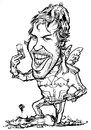 Cartoon: Sebastian Vettel (small) by stieglitz tagged sebastian vettel karikatur caricature