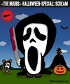 Cartoon: Scream if you can!!! (small) by BRAINFART tagged scream,comic,halloween,horror,thriller,cartoon,character,pumpkin,brainfart,art,awesome,like,facebook,toonpool,drawing,lustig,fun,funny,lachen,laugh,spass,witzig