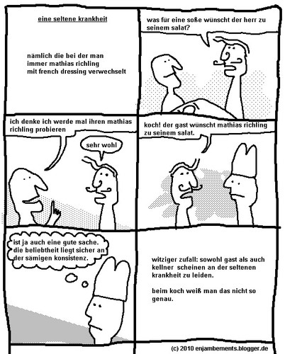 Cartoon: Ein Comic über Konsistenz (medium) by gloiman tagged bjkbjk,hkjh