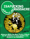 Cartoon: A NATO MIA OF A MASSACRE (small) by Zurum tagged nato,isaf,afghanistan,war