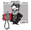 Cartoon: badge for magistrates (small) by Zurum tagged brunetta,magistrates,badge