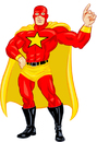 Cartoon: superstar guy (small) by michaelscholl tagged superhero