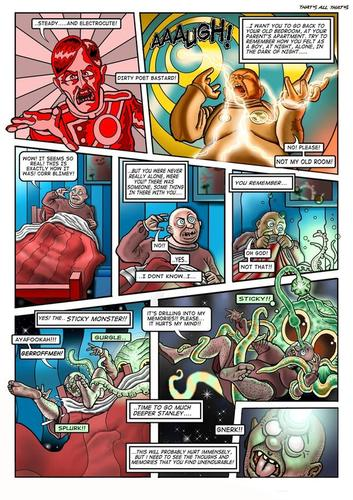 Cartoon: page from my comic (medium) by drackydoo tagged oblon,bizarre,weird,sciencefiction