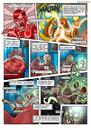 Cartoon: page from my comic (small) by drackydoo tagged oblon,bizarre,weird,sciencefiction