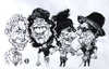 Cartoon: Rolling Stones 1 (small) by Grosu tagged rolling,stones,rock,music,band