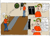 Cartoon: Vereinsmeierei (small) by Wolfgang tagged darts,auge,501,vereine