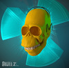 Cartoon: Skullified Homer (small) by fantasio tagged skull,portrait,digital,art