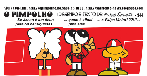 Cartoon: O Pimpolho (medium) by jose sarmento tagged pimpolho