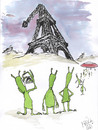 Cartoon: after War (small) by Mirek tagged tourism,ufo,paris