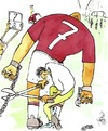 Cartoon: great football (small) by Mirek tagged sport