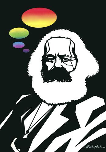 Karl Marx By Atilla Atala Politics Cartoon Toonpool