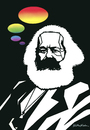 Cartoon: Karl Marx (small) by Atilla Atala tagged socialism,revolution,economy,communism,marxism,worker,work,philosophy