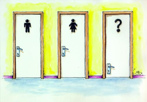Cartoon doors (medium) by Liviu tagged doorstoillet  sc 1 st  Toonpool & doors By Liviu | Media u0026 Culture Cartoon | TOONPOOL pezcame.com