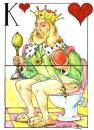 Cartoon: Up and down (small) by Liviu tagged king,card,toillet,