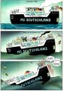 Cartoon: MS Deutschland (small) by Pohlenz tagged deutschland,allemagne,germany,
