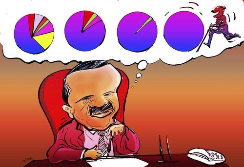 Cartoon: tayyip erdogan (medium) by oguzgurel tagged humor