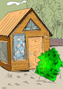 Cartoon: home-virüs (small) by oguzgurel tagged home,virüs