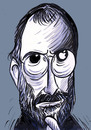 Cartoon: steve jobs (small) by oguzgurel tagged portrait