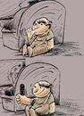 Cartoon: tv (small) by oguzgurel tagged humor