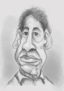 Cartoon: Jorge harrison (small) by Rahul tagged caricature