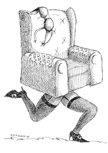 Woman Running Cartoon
