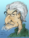 Cartoon: Tomas Rodriguez Zayas (small) by dbaldinger tagged cartoonist,tribute,caricature,obituary,cuba,dedete