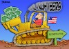 Cartoon: War Profiteer (small) by dbaldinger tagged war,iraq,usa,profits
