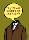 Cartoon: Freexpression (small) by alexfalcocartoons tagged freexpression