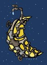 Cartoon: moonplumber (small) by alexfalcocartoons tagged moonplumber