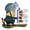 Cartoon: Riots in Egypt (small) by alexfalcocartoons tagged riots egypt