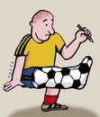 Cartoon: soccer2 (small) by alexfalcocartoons tagged soccer2
