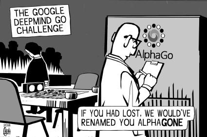 Image result for deep mind cartoon