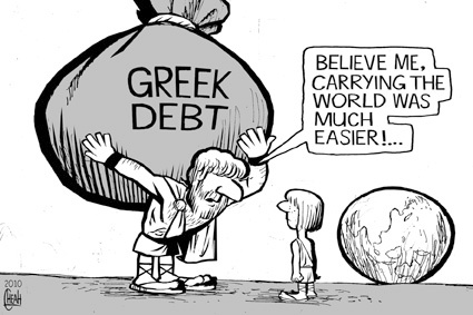 greek debt toonpool.com cartoons