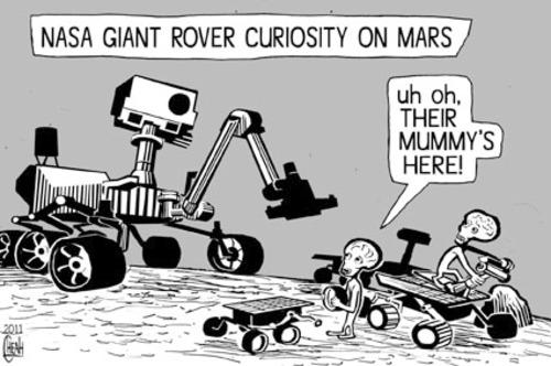 mars rover cartoon - photo #33