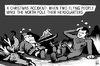 Cartoon: A Christmas accident (small) by sinann tagged christmas,accident,santa,claus,superman,north,pole