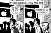 Cartoon: iPhone 5 (small) by sinann tagged iphone,5s,5c,buy