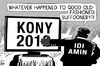 Cartoon: Kony 2012 (small) by sinann tagged kony,2012,joseph,idi,amin,buffon,warlord,uganda