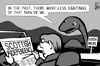 Cartoon: Scotland independence (small) by sinann tagged scotland,independence,nessie