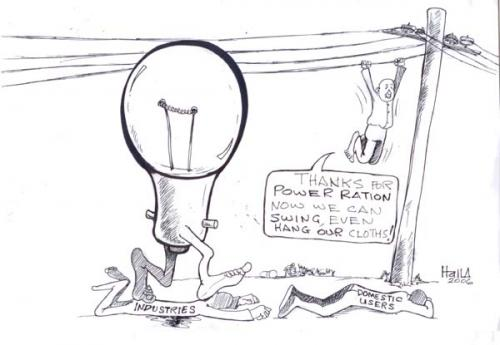 Cartoon: power ration (medium) by fredhalla tagged what,happens,when,you,get,power,only,from,midnight,