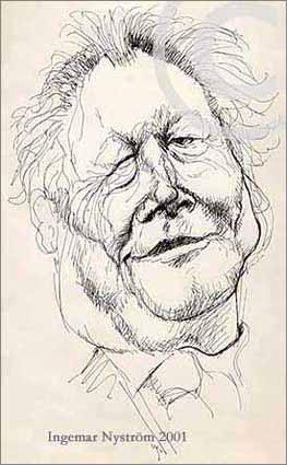 Cartoon: Willy Brandt 1913-1992 (medium) by Ingemar tagged politican,germany,caricature,