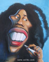 Cartoon: Bob Marley (small) by zaliko tagged bob marley