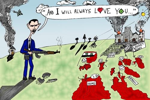 Bashar Assad Will Always Love Yo By Laughzilla Famous People