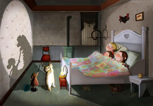Cartoon It Is Show Time Medium By Taravat Niki Tagged Kitten