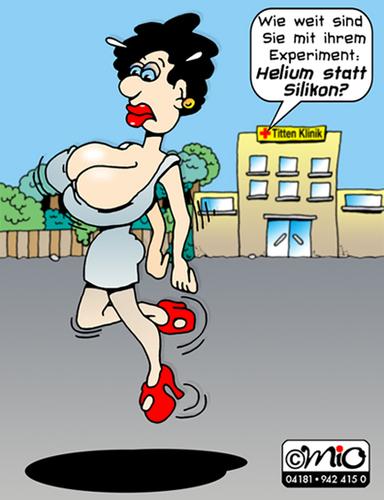 Cartoon Titten