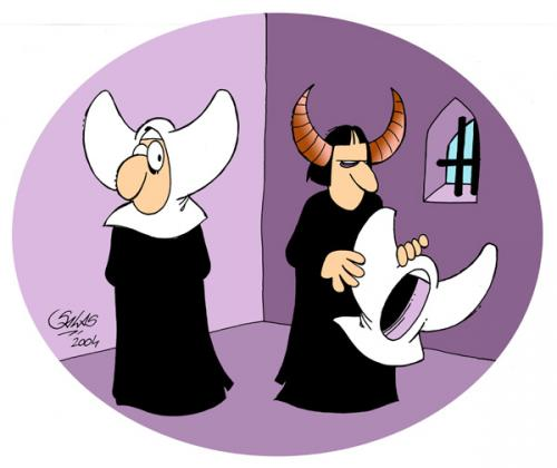 nuns and the devil